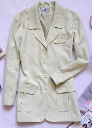 Мега стильный удлиненный пиджак жакет paul separates р-р m/l
