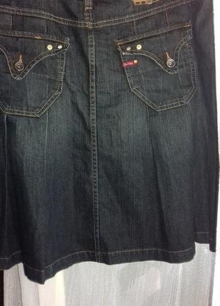 Джинсовая юбка jeans geisha