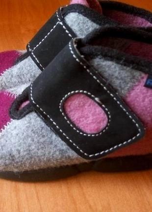 Детские тапочки из валяной шерсти бренд rohde