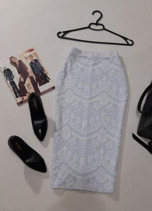 Стильная юбка карандаш. размер м