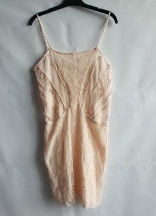 Женское  платье  сарафан в обтяжку  испанского бренда bershka, м