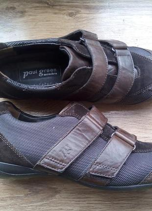 Туфли кроссовки paul green 36-37р на липучках