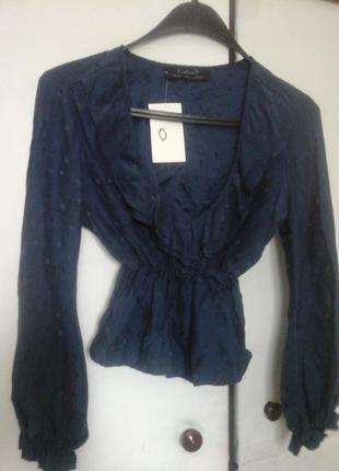 Блуза , топ с длинными рукавами kristina ti