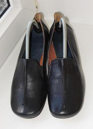 Фирменные кожаные туфли manfield (италия) р.36 (23,5 см)