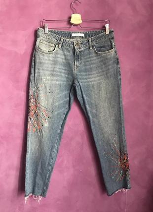 Круті джинси zara розмір 40