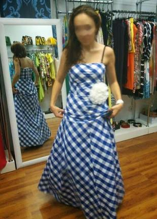 Платье с пышным подъюбником