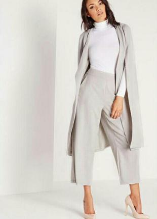 Идеальные,стильные брендовые брюки кюлоты 42-44р