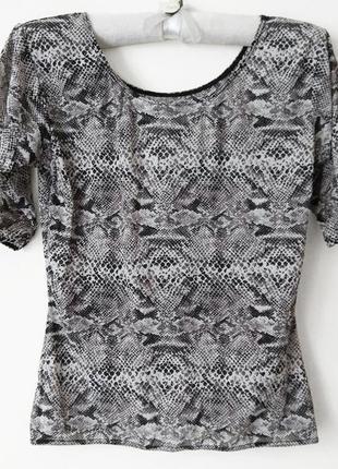 Стильная прозрачная блузка кофточка