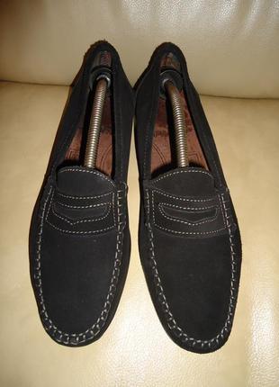 Женские кожаные туфли лоферы filanto в отличном состоянии р. 41