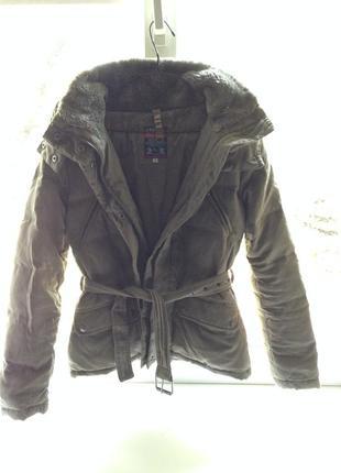 Куртка \парка хаки