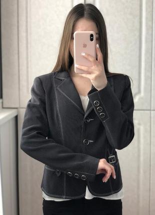 Теплый пиджак жакет италия