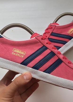 Кроссовки adidas gazelle og coral оригинал 39 размер