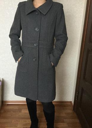 Тёплое пальто/ пог 50