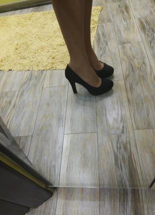 Мега удобные черные туфли на каждый день