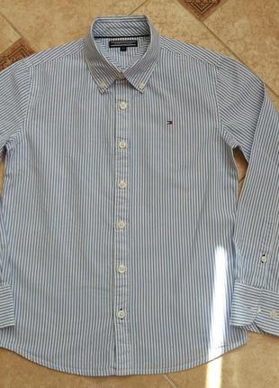 Рубашка tommy hilfiger на 10 лет