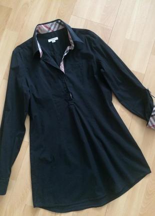 Удлинённая рубашка блуза burberry