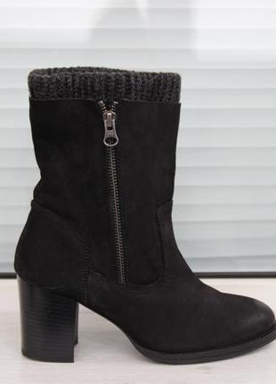Кожаные сапоги /ботинки firetrap