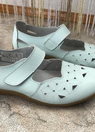 Туфлі damart шкіра