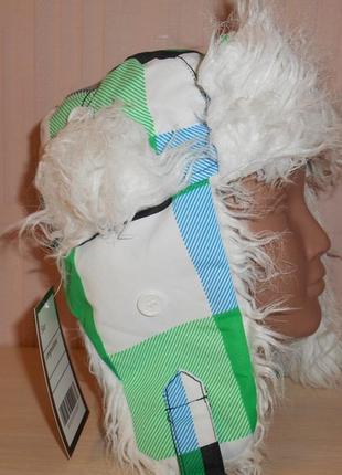 Новая теплая шапка ушанка next, 7-10 лет, оригинал