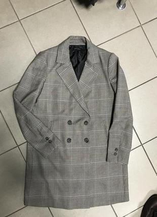 Пиджак экстравагантный тренч пальто zara