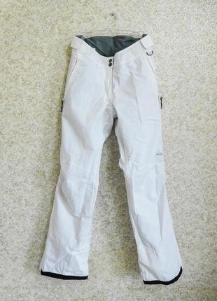 Лыжные штаны s штани лижні термо костюм на сноуборд білі стиль зима 2019