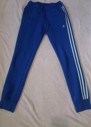 Фирменные теплые штаны