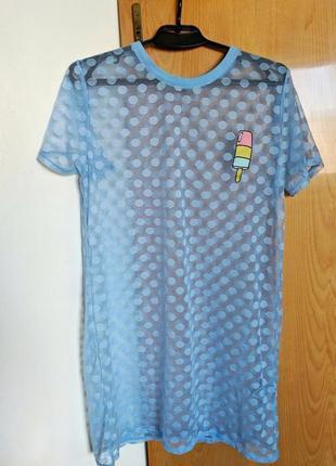 Платье туника парео накидка футболка топ майка