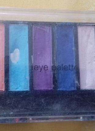 Разноцветные матовые тени набор палетка теней marks spencer оригинал