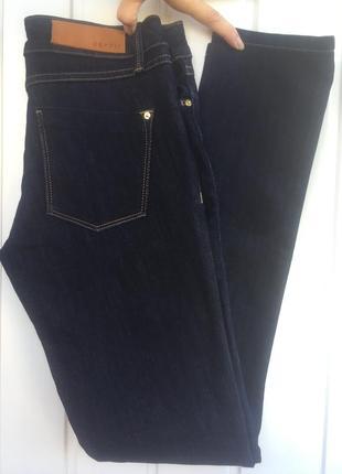 Esprit базовые темно-синие джинсы скинни размер с