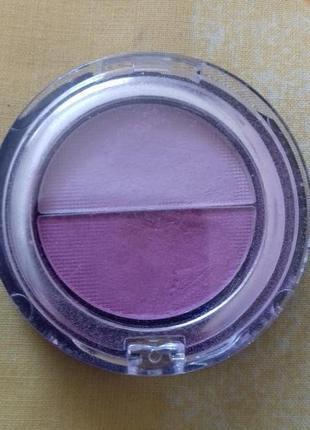 Двойные розовые нежные тени для век marks spencer