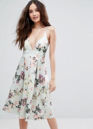 Нарядное элегантное платье asos