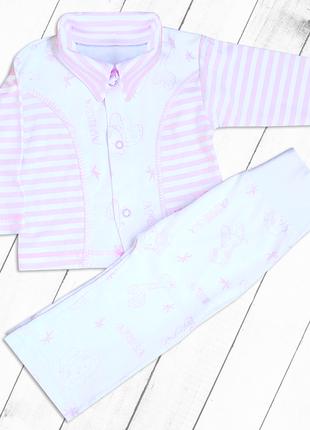 Костюм для новорожденных (для девочки)