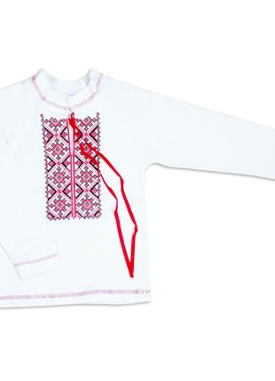 Детская вышиванка для мальчика / для девочки с длинным рукавом