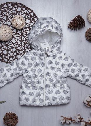 Демисезонная куртка для девочки (италия)