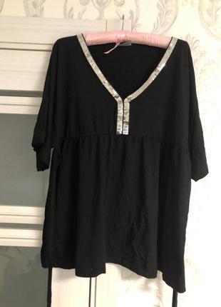 Блузка большого размера нарядная