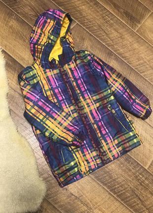 Лыжная курточка куртка rodeo на девочку 9-10 лет 134р.