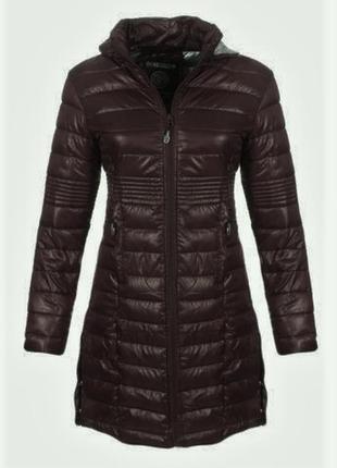 Новое термо пальто/куртка/парка geographical norway fr2, шоколадный глянец