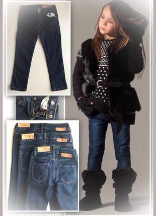 Скидка 25% стильные джинсы от zara 98-104-110-116-122-128-134-140