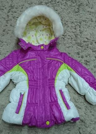 Термокуртка, зимова