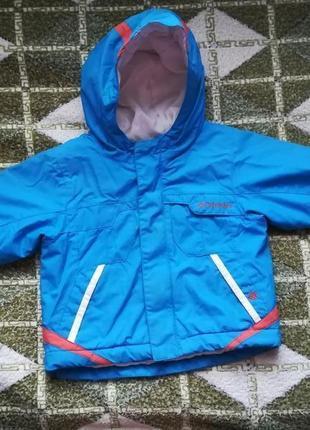 Демисезонный комбинезон и куртка columbia