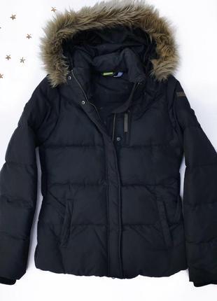 Зимний пуховик куртка adidas