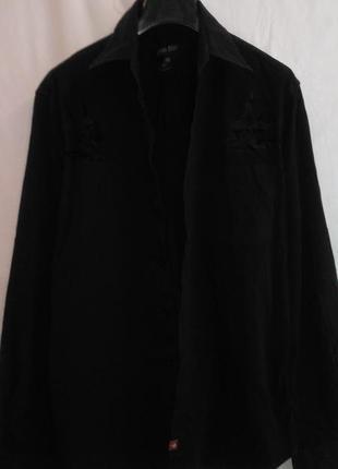 Классная рубашка черная