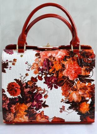 Шикарная сумка luck sherrys с оригинальным цветочным принтом, цена ... e75f7f06033