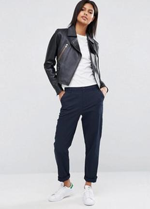 Классические брюки с высокой посадкой dkny