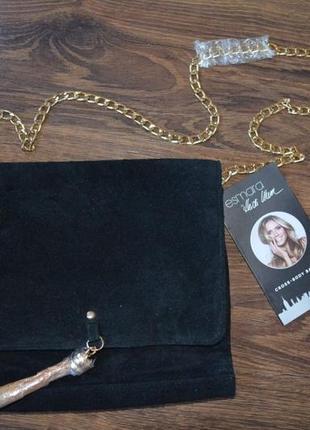 Кожаная сумка кросс-боди esmara германия