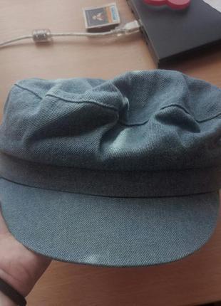 Крутой джинсовый кеппи. кепка шляпа берет