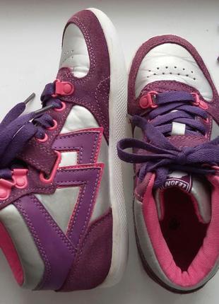Высокие кроссовки,кеды lejon 32р. хайтопы 21 см.