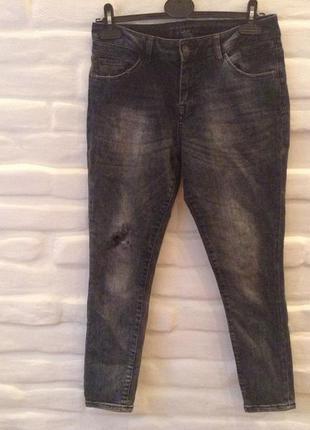 Zara женские джинсы skinny р.36!