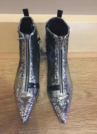Стильные ботинки сапоги ботильоны,zara,39р