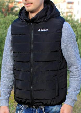 Мужской жилет columbia omni-heat